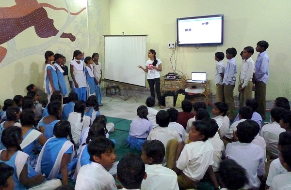 Watching films on the energy problems in India