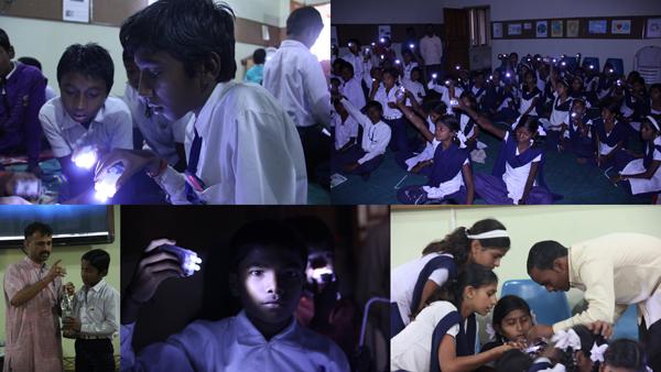 Collage for Vigyan Ashram LED batteries Workshp (25- 27th Jan)