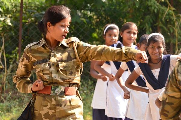 Karate at the E-Base! (Photo: Navreet Kaur)